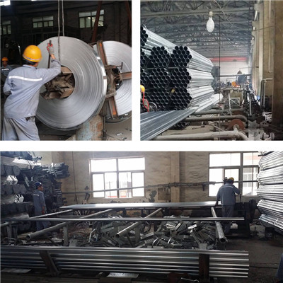 Forward Steel Q195 Q235 Q345 Hot Dip Galvanized Steel Pipe
