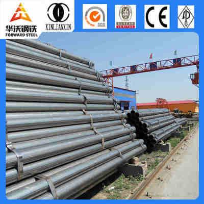 Sche40 large diameter black welded steel pipe/hot dip gi pipe