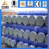 Galvanized welded steel threaded pipe