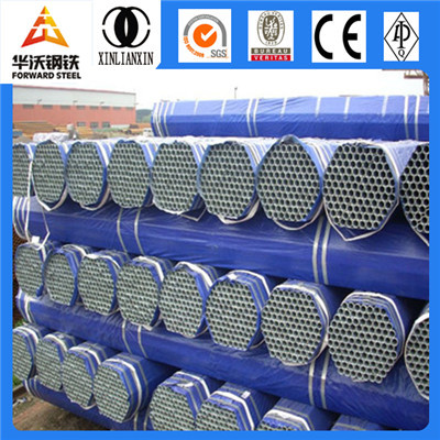 Galvanized welded steel threaded pipe