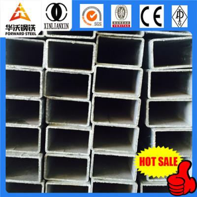 Q235 welded square tube galvanized square steel pipe size