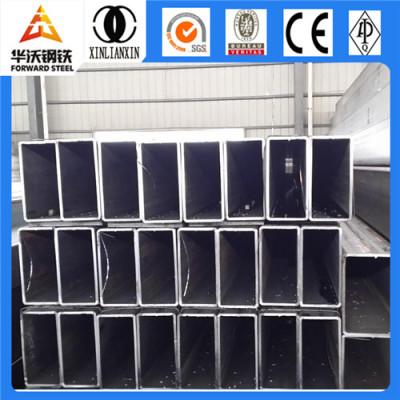 Hot Dip Galvanized iron Pipe rectangular steel tube sizes q235
