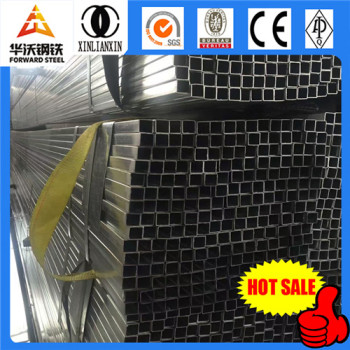 Q235 straight seam steel pipe, steel tube, galvanized square tube size