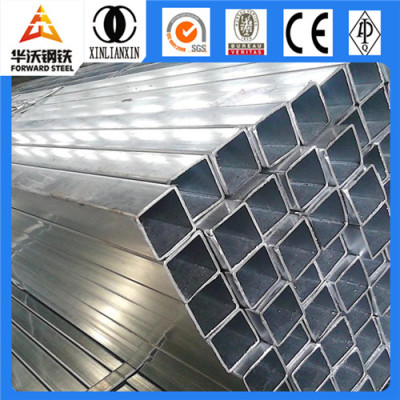 Galvanized Welded Rectangular / Square Steel Pipe/Tube/Hollow Section/SHS