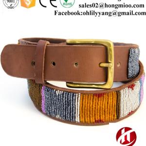 2017 Hot Sale Classic Handmade Kenyan Custom Beaded Belts