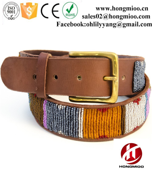 Classic Handmade Kenyan Custom Beaded Belts