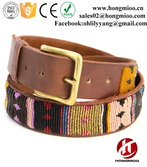 Classic Handmade Kenyan Custom Beaded Belts