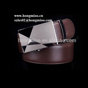 2017 China Manufacturer Factory Price Formal Genuine Leather Automatic Buckle Belts