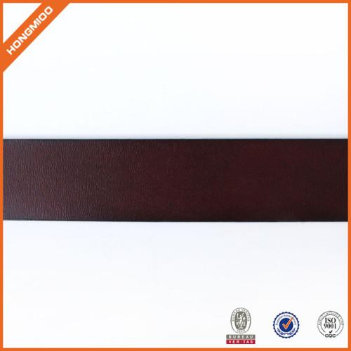 Vintage Full Grain Leather Belt Genuine Leather Belt With Prong Buckle For Men