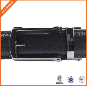 Mens Leather Belts Casual PU Belt With  Automatic Click For Jeans