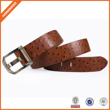 Top Grain Leather Belt Casual Belt With Pin Buckle For Men Hongmioo Belt