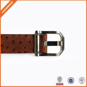 Top Grain Leather Belt Casual Belt With Pin Buckle For Men Hongmioo Belt