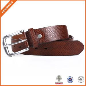 New Design Mens Full Grain Leather Belt