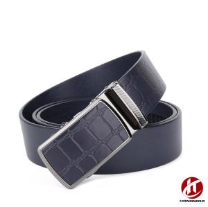 Chastity Cowskin Genuine Leather Adjustable Belt Buckle for Men