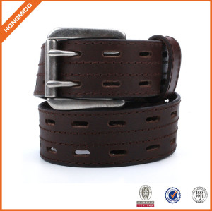 Classic Brown Mens Genuine Leather Belt