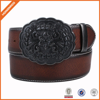 2017 New Arrival Topest Quality Western Style Genuine Leather Belts