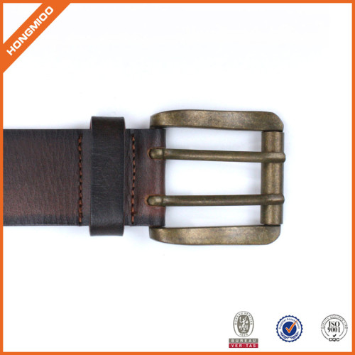 Hotsale Competitive Price Double Pin Copper Buckle Fashion Waist Belts
