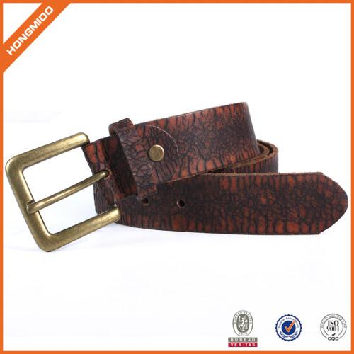 Top Quality Genuine Tan Leather Belt