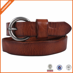 Top Quality Brown Genuine Leather Belt