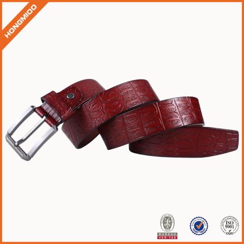 Genuine Leather Belt Vintage Full Grain Leather Belt For Dress