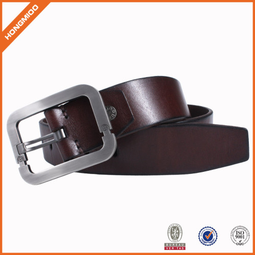 New Good Design Genuine Leather Belts With Pin Buckle for Men