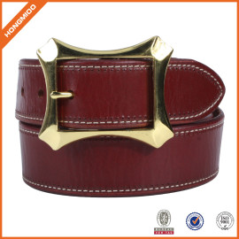 Factory OEM Women Waist Belt Skiny Full Grain Leather Belt For Jeans