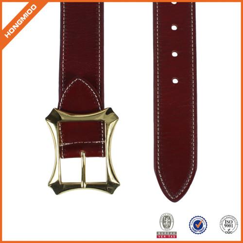 Factory OEM Women Waist Belt Skiny Full Grain Leather Belt For Jeans