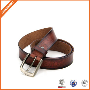 Topest Quality Mens Brown Genuine Leather Belt