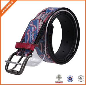 100% Factory Man Leather Waist Belt