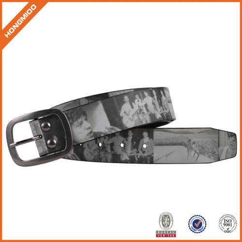 Casual Belts Men's Cummerbund Striped Printing Wide Belt