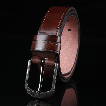 Spilt Leather Belt Mens Genuine Leather Belts For Jeans