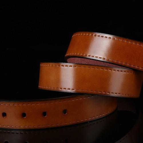 Spilt Leather Belt Mens Genuine Leather Belts For Jeans