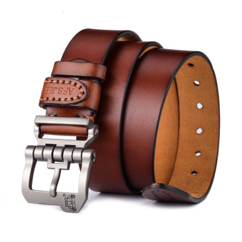 New Good Design men Waist Genuine Leather Belt