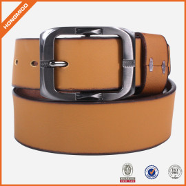 New Design Top Grain Genuine Leather Belt For Jeans