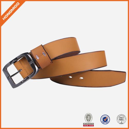 New Design Top Grain Genuine Leather Belt For Jeans