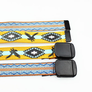Newest Design Woven Genuine Leather Belt For Kids