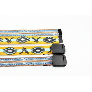 Newest Design Woven Genuine Leather Belt For Kids