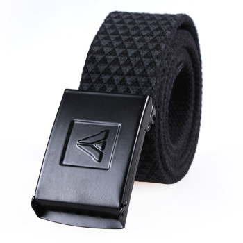 Fashionable Cotton Canvas Leather Eastic Webbing Belts