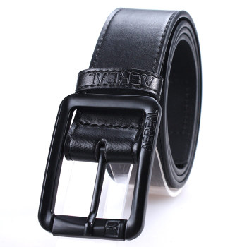 Factory Oem Mens Black Leather Belt