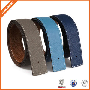 China supplier Genuine Leather Belt Straps without Buckle