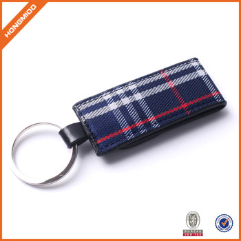 Simple Classic Crazy Horse Leather Keychain, Men Waist Hanging Blank Leather Belt Key Chian Wholesale