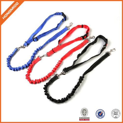Fancy different color custom logo cord dog leash,round dog leash
