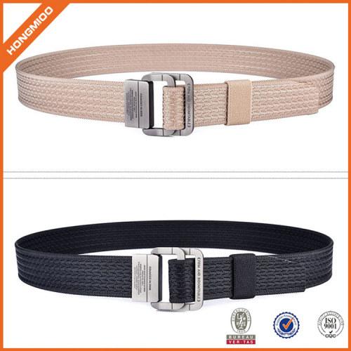 Men's Comfortable Stripe Fabric Waist Belt For Golf