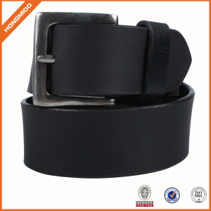 Good Quality Mens Black Genuine Leather Belt