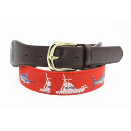 Factory OEM Multi Colors Elastic Golf Sport Needlepoint Belt