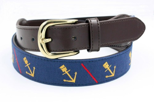 Factory OEM Multi Colors Elastic Golf Sport Needlepoint Belt