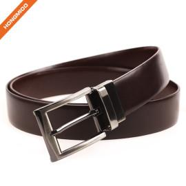 Comfortable Belt Men's Genuine Leather Dress Belt Reversible Belt