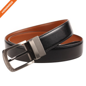 Wholesale Men Genuine Cow Leather Custom Strap Belt