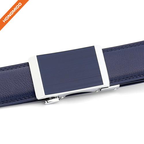 Hongmioo Comfortable Click Belt Genuine Leather Ratchet Belt for Men