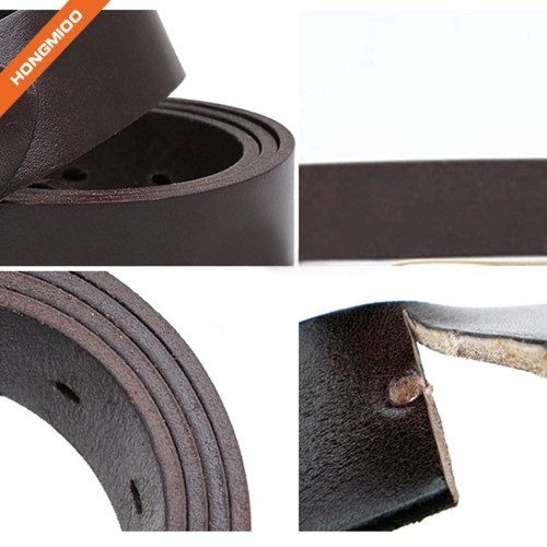 Hongmioo 100% Full Grain Leather Men's Classic Jean Belt